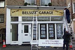 Belsize garage
