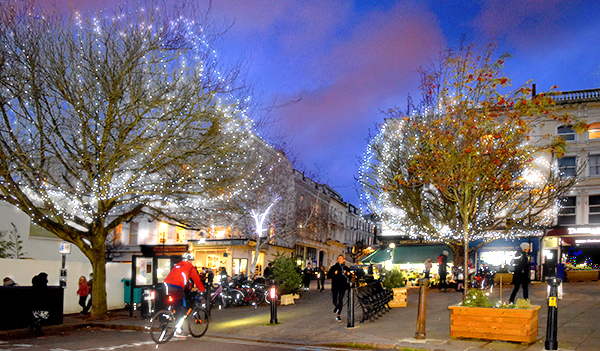 Belsize Village Lights
