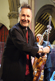 Nigel Kennedy by David S Percy